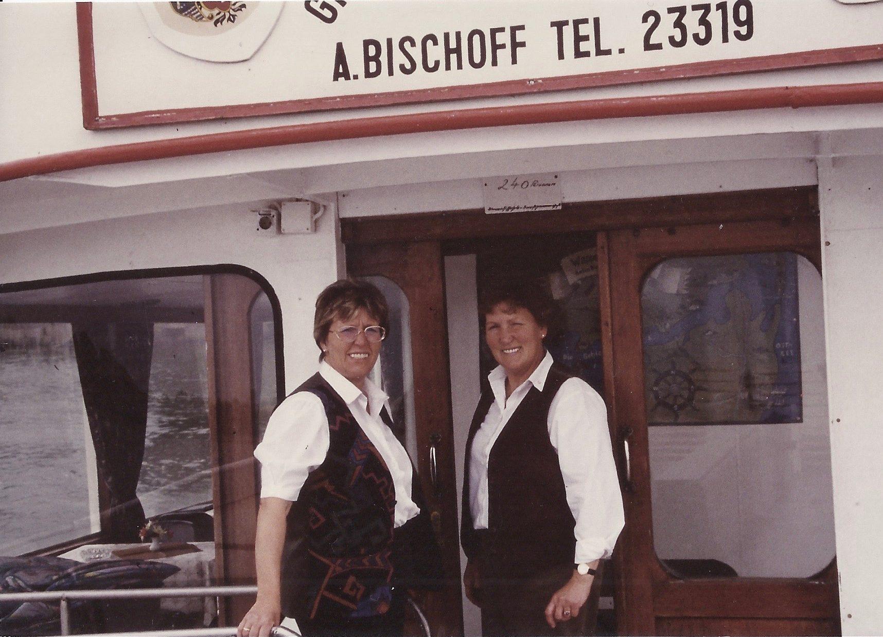 Bild: Hertha Nelius und Gisela Boyer