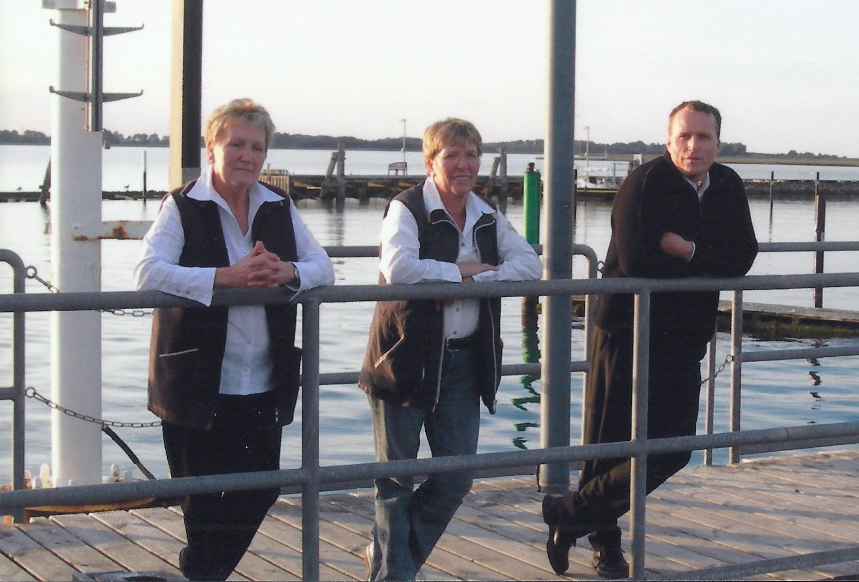 Bild: Hertha und Stefan Nelius und Gisela Boyer